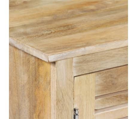 vidaXL Rašomasis stalas, masyvi mango mediena, 140x50x77cm[4/13]