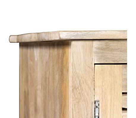 vidaXL Rašomasis stalas, masyvi mango mediena, 140x50x77cm[5/13]