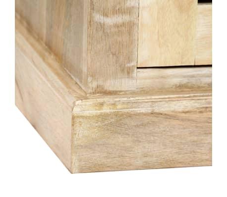 vidaXL Rašomasis stalas, masyvi mango mediena, 140x50x77cm[6/13]