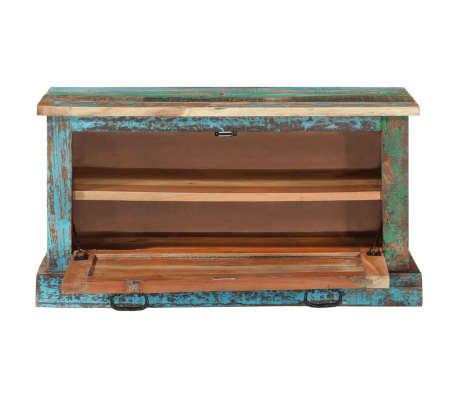 vidaXL Batų lentyna iš perdirbtos medienos[3/16]