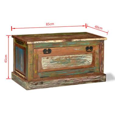 vidaXL Batų lentyna iš perdirbtos medienos[12/16]