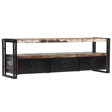 "vidaXL TV Cabinet Solid Reclaimed Wood 47.2""x11.8""x15.7""[9/12]"