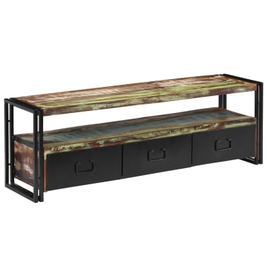 "vidaXL TV Cabinet Solid Reclaimed Wood 47.2""x11.8""x15.7""[10/12]"