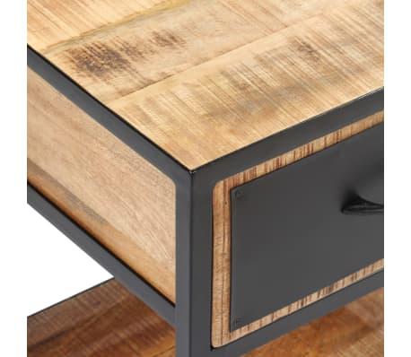 acheter vidaxl table de chevet bois de manguier massif 40 x 30 x 50 cm pas cher. Black Bedroom Furniture Sets. Home Design Ideas