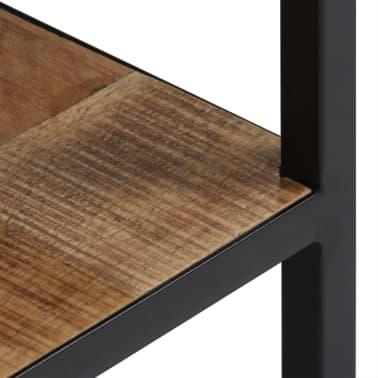 vidaXL Table de chevet Bois de manguier massif 40 x 30 x 50 cm[5/13]