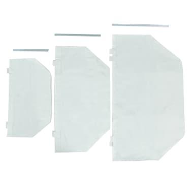 vidaXL Laundry Box Set 3 Pieces Teak[8/9]
