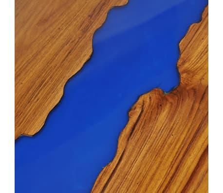 vidaXL Kavos staliukas, tikmedis ir derva, 100x50x40cm[11/13]