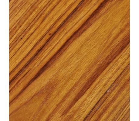 vidaXL Kavos staliukas, tikmedis ir derva, 100x50x40cm[12/13]