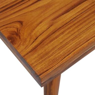vidaXL Kavos staliukas, tikmedis ir derva, 100x50x40cm[10/13]