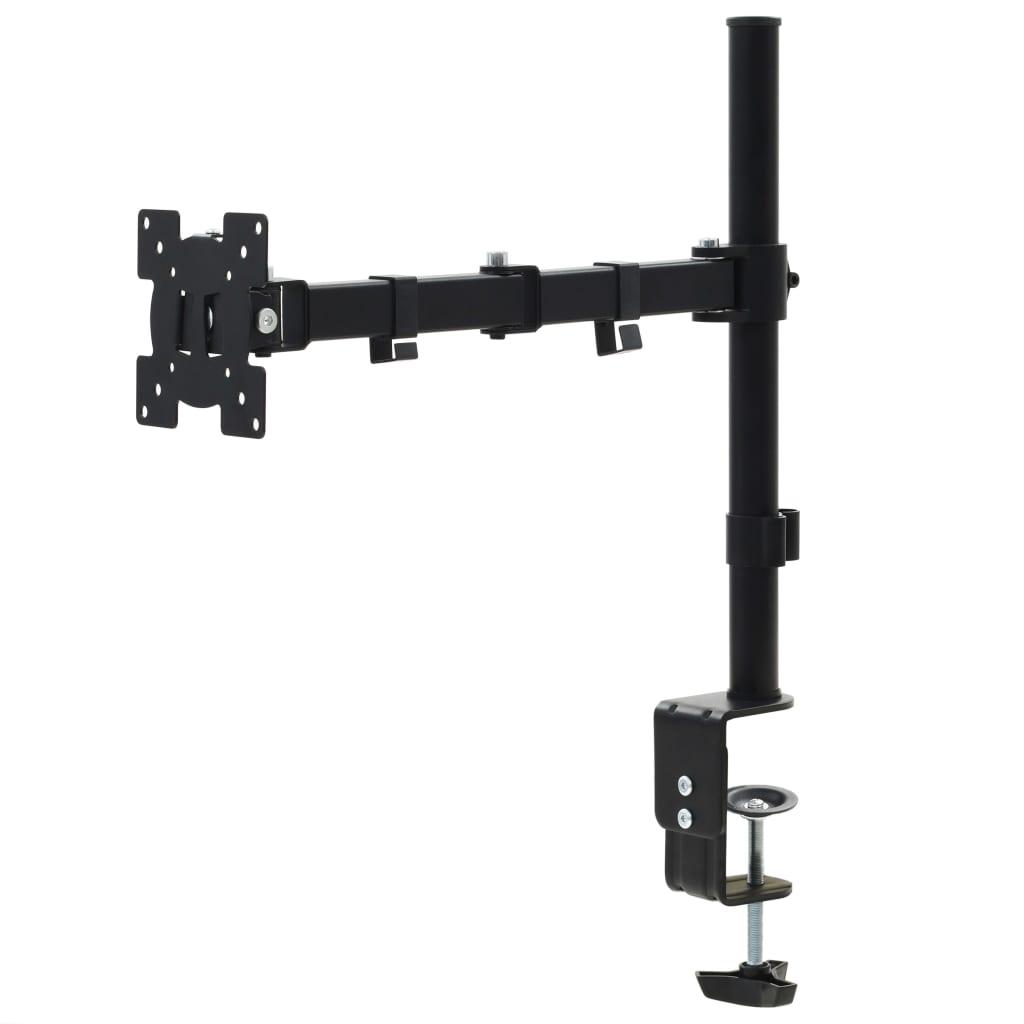 """vidaXL Suport monitor 32"""", braț unic, înălțime reglabilă imagine vidaxl.ro"""