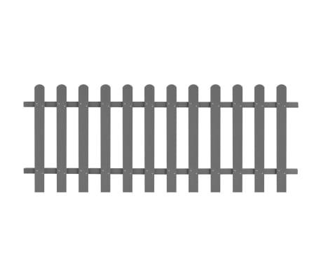 vidaXL Statinių tvora, 200x80cm, WPC