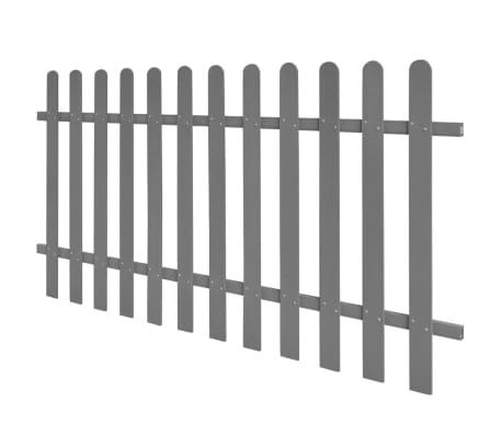 vidaXL Surenkama tvora, WPC, 200x100cm, pilka[2/4]