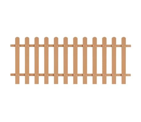 vidaXL Statinių tvora, 200x80cm, WPC[1/4]
