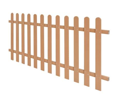 vidaXL Statinių tvora, 200x80cm, WPC[2/4]