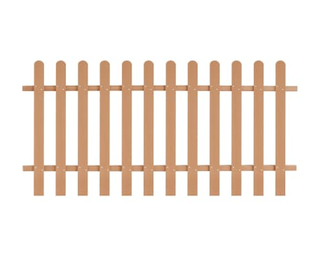 vidaXL Surenkama tvora, WPC, 200x100cm, ruda[1/4]