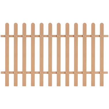 vidaXL Statinių tvora, 200x120cm, WPC[1/4]