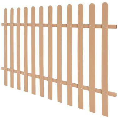 vidaXL Statinių tvora, 200x120cm, WPC[2/4]