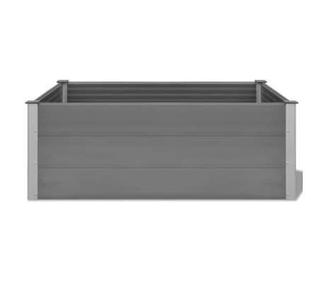 vidaXL plantekasse WPC 150 x 100 x 54 cm grå[4/6]
