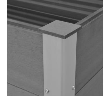 vidaXL plantekasse WPC 150 x 100 x 54 cm grå[6/6]