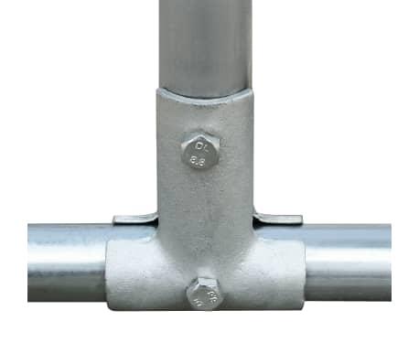 vidaXL Outdoor-Hühnerkäfig Verzinkter Stahl 3 x 4 x 2 m[3/5]