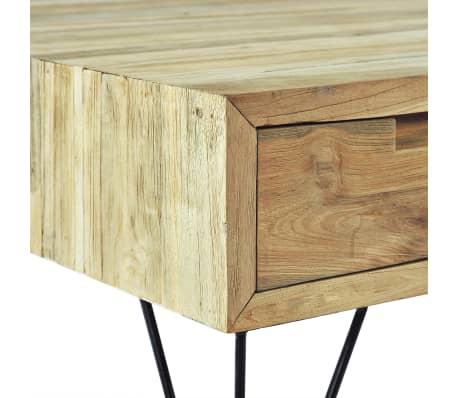vidaXL TV spintelė, 120x35x35cm, masyvi tikmedžio mediena[8/10]