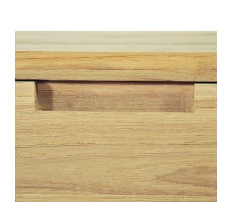 vidaXL TV spintelė, 120x35x35cm, masyvi tikmedžio mediena[9/10]