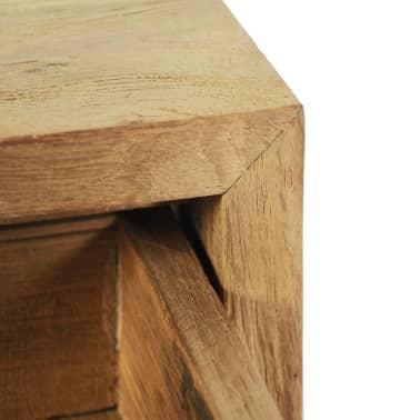 vidaXL Nočný stolík z teakového dreva, 40x30x50 cm[8/9]