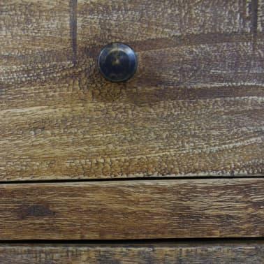 """vidaXL Nightstand Solid Reclaimed Wood 15.7""""x11.8""""x20.1""""[6/7]"""