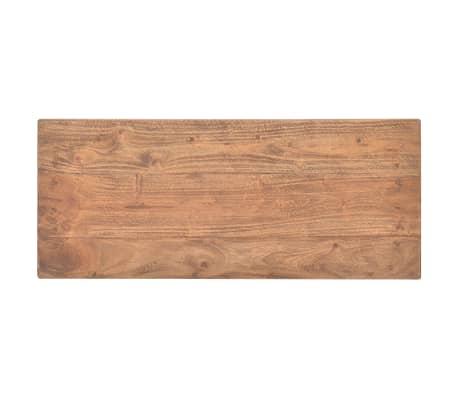 vidaXL Odkládací stolek z masivního recyklovaného dřeva, 69x28x70 cm[5/7]
