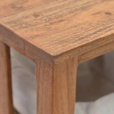 vidaXL Odkládací stolek z masivního recyklovaného dřeva, 69x28x70 cm[6/7]