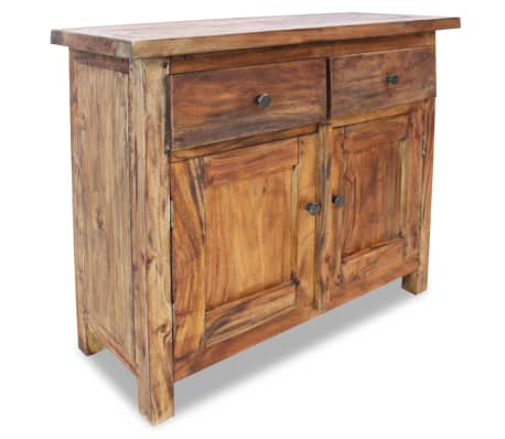 "vidaXL Sideboard Solid Reclaimed Wood 29.5""x11.8""x25.6""[1/7]"