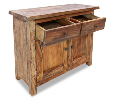 "vidaXL Sideboard Solid Reclaimed Wood 29.5""x11.8""x25.6""[3/7]"