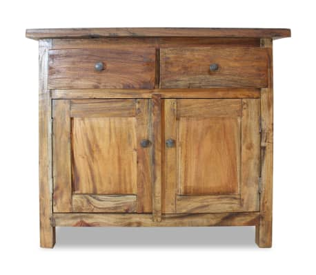 "vidaXL Sideboard Solid Reclaimed Wood 29.5""x11.8""x25.6""[4/7]"
