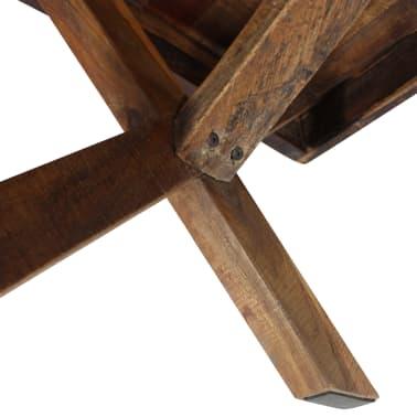 """vidaXL Coffee Table Solid Reclaimed Wood 43.3""""x23.6""""x17.7""""[5/6]"""