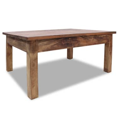 "vidaXL Coffee Table Solid Reclaimed Wood 38.6""x28.7""x17.7""[1/7]"