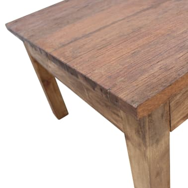 "vidaXL Coffee Table Solid Reclaimed Wood 38.6""x28.7""x17.7""[3/7]"