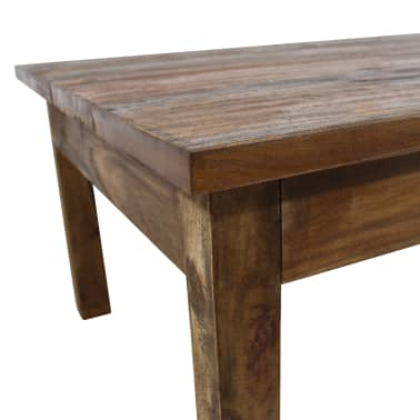 "vidaXL Coffee Table Solid Reclaimed Wood 38.6""x28.7""x17.7""[4/7]"