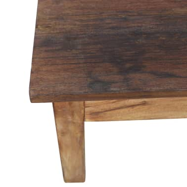 "vidaXL Coffee Table Solid Reclaimed Wood 38.6""x28.7""x17.7""[6/7]"