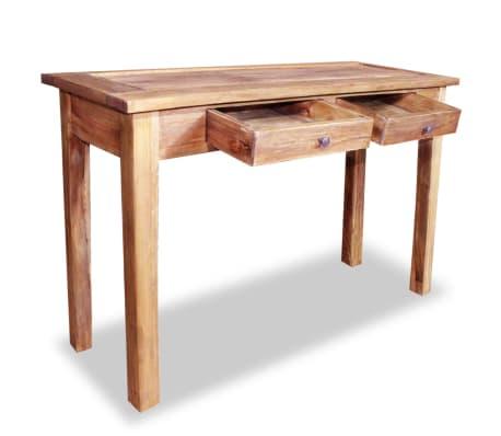 "vidaXL Console Table Solid Reclaimed Wood 48.4""x16.5""x29.5""[2/5]"