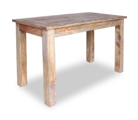 "vidaXL Dining Table Solid Reclaimed Wood 47.2""x23.6""x30.3"""