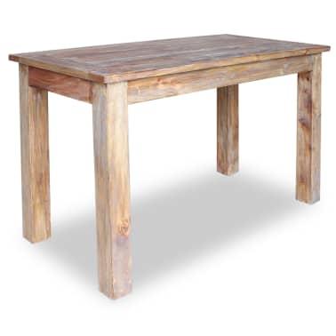 vidaXL Table de salle à manger Bois de récupération 120 x 60 x 77 cm[1/6]