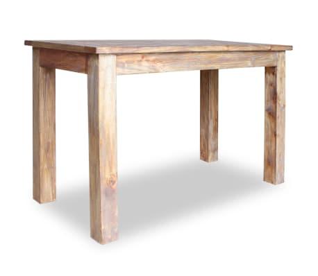 vidaXL Table de salle à manger Bois de récupération 120 x 60 x 77 cm[3/6]