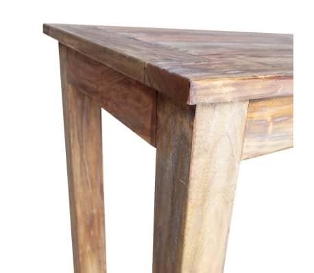 vidaXL Table de salle à manger Bois de récupération 120 x 60 x 77 cm[5/6]