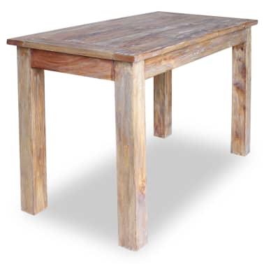 vidaXL Table de salle à manger Bois de récupération 120 x 60 x 77 cm[2/6]