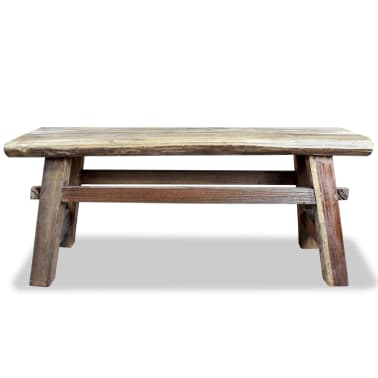 "vidaXL Bench Solid Reclaimed Wood 39.4""x11""x16.9""[2/4]"