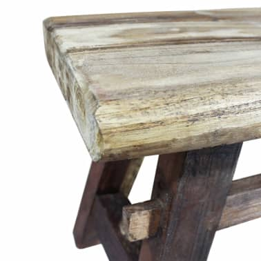 "vidaXL Bench Solid Reclaimed Wood 39.4""x11""x16.9""[3/4]"