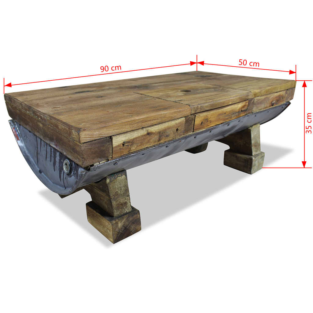 Handmade Wooden Coffee Table Side Table Hidden Storage Spectacular