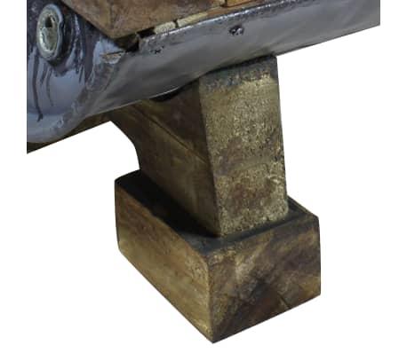 vidaXL Table basse Bois de récupération massif 90 x 50 x 35 cm[9/10]