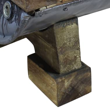 vidaXL Măsuță de cafea, lemn masiv reciclat, 90x50x35 cm[9/10]