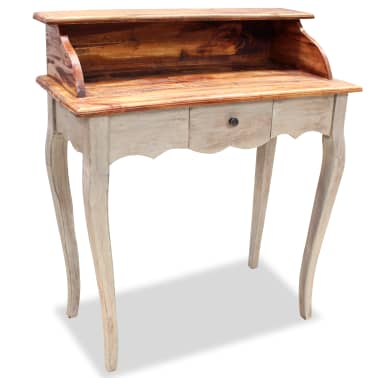 "vidaXL Writing Desk Solid Reclaimed Wood 31.5""x15.7""x36.2""[1/5]"